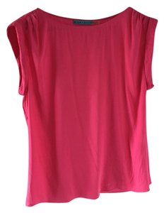 Alice + Olivia Silk Top Hot pink
