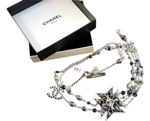 Chanel **SPECTACULAR** RUNWAY CHANEL PEARLS LOGO BELT WITH BOX $2.8K PRICE TAG ATTACHED
