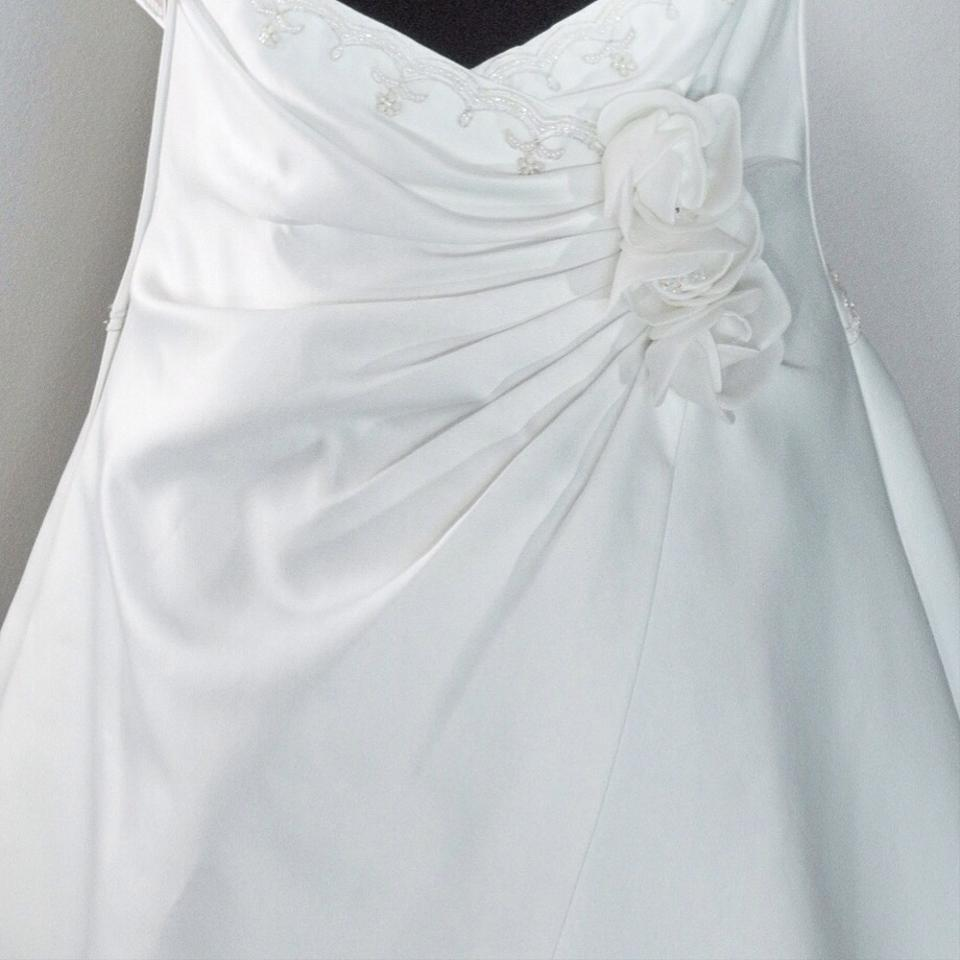David 39 s bridal st tropez jp304 with a line underslip for St tropez wedding dress