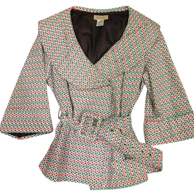 Preload https://img-static.tradesy.com/item/10552273/moon-collection-white-teal-orange-blue-retro-crop-trench-spring-jacket-size-4-s-0-1-650-650.jpg