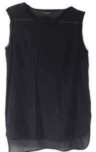 Vince Basic Classic Top Navy