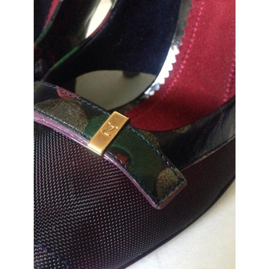 Louis Vuitton Italy Leather Limited Edition Size 39 Multi Pumps