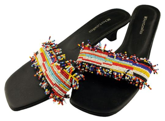 Preload https://img-static.tradesy.com/item/10552474/details-blackmulti-spiegel-beaded-sandals-size-us-8-regular-m-b-0-1-540-540.jpg
