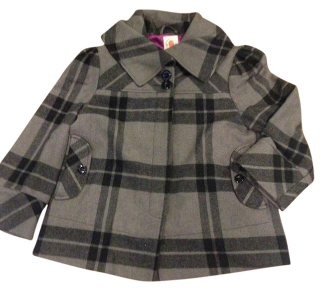 Preload https://item4.tradesy.com/images/tulle-grey-and-black-plaid-wool-swing-pea-coat-size-8-m-10552483-0-3.jpg?width=400&height=650