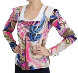Versace Top Multi-Color