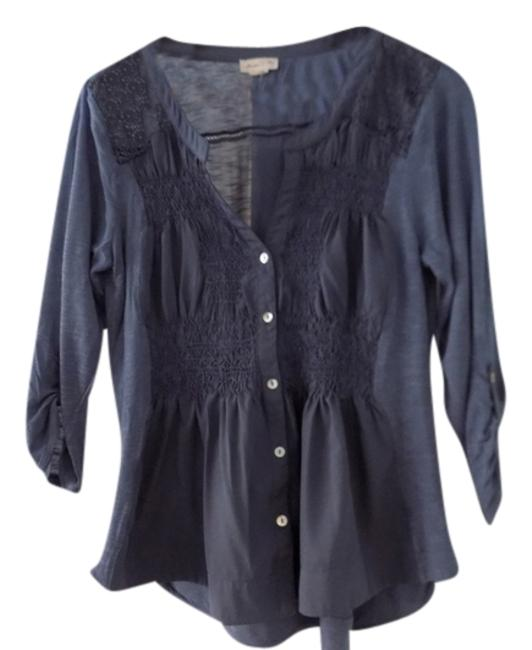 Preload https://item2.tradesy.com/images/anthropologie-mauve-meadow-rue-button-down-m-blouse-size-8-m-10552726-0-2.jpg?width=400&height=650