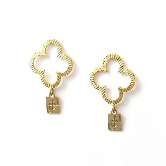 Elliot Francis Clover earring posts
