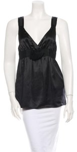 See by Chloé Chloe Silk Chloe Top Black