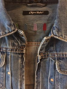 Chip Foster Small BLUE Womens Jean Jacket