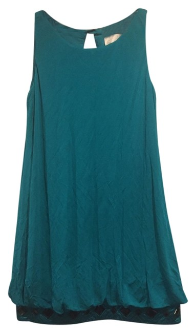 Preload https://img-static.tradesy.com/item/10553449/badgley-mischka-teal-above-knee-cocktail-dress-size-8-m-0-1-650-650.jpg