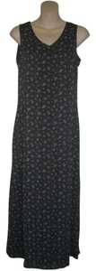 Dark Gray Maxi Dress by Old Navy Floral