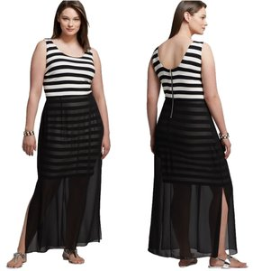 Maxi Dress by Vince Camuto Size 1x Striped