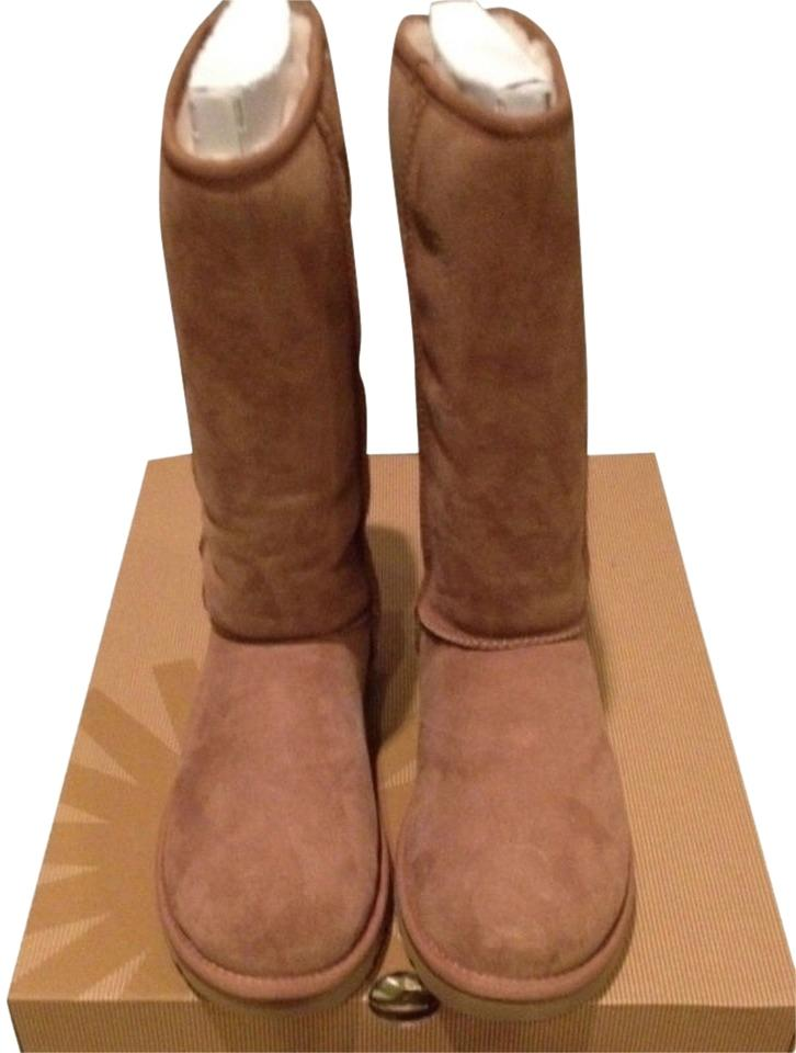 a7fbce20ebb UGG Australia Tan Box New In Chestnut Classic Tall Uggs Boots/Booties Size  US 9 18% off retail