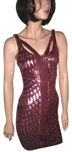 A.B.S. by Allen Schwartz Sequin Cut Out Party Dress