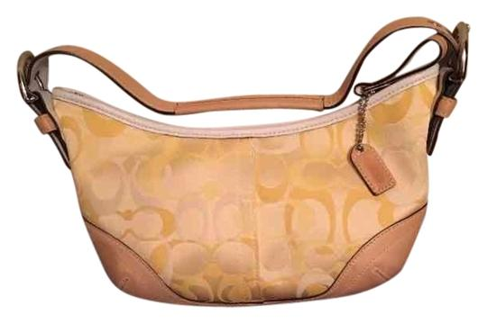 Preload https://item1.tradesy.com/images/coach-small-yellow-canvas-w-leather-trim-hobo-bag-10555330-0-3.jpg?width=440&height=440
