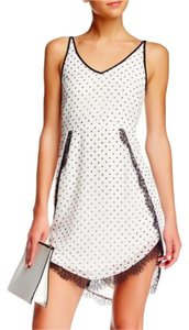 BCBGeneration short dress WHISPER WHITE Graduation Ceremony on Tradesy