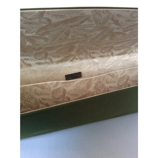 Philip Treacy Olive Green Clutch