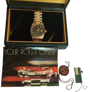 Rolex BEST PRICE - Rolex Datejust W Diamonds W Original Box And Booklet