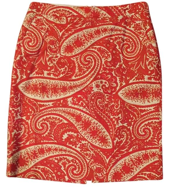 Preload https://item2.tradesy.com/images/jcrew-red-and-orange-knee-length-skirt-size-6-s-28-10556056-0-1.jpg?width=400&height=650