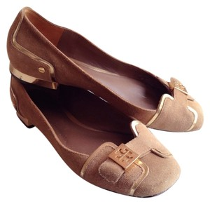 Tory Burch Nude Brown Flats