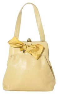 Marc Jacobs Leather Satchel in Yellow