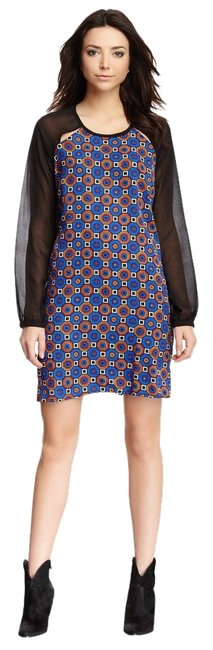 Romeo & Juliet Couture short dress MULTI Geometric Shift Modern Relaxed Booties on Tradesy