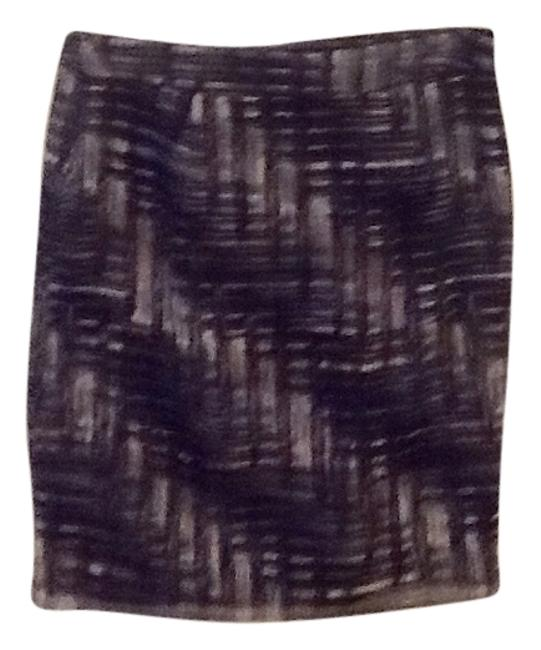 Ann Taylor LOFT Skirt Black/Grey