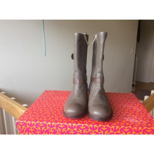 Tory Burch Gray Boots