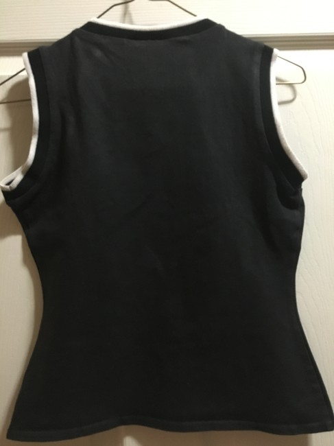 Laundry by Shelli Segal Casual Summer Top Black