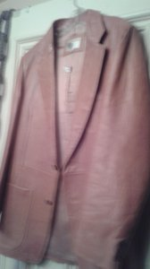 Other rusty brown Leather Jacket