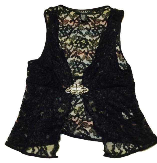 Preload https://item1.tradesy.com/images/laundry-by-shelli-segal-black-lace-vest-size-4-s-10557490-0-1.jpg?width=400&height=650