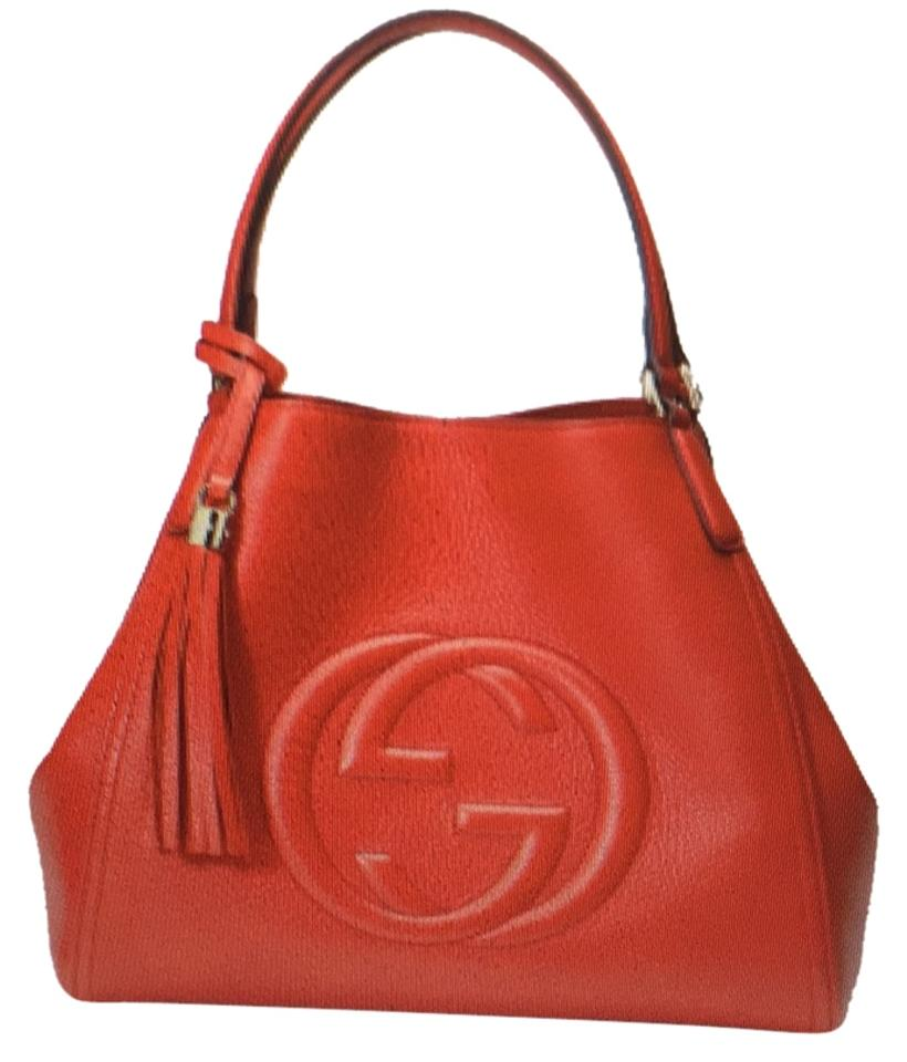 ac1d94d7cd73 Gucci 282309 Red Leather Hobo Bag - Tradesy