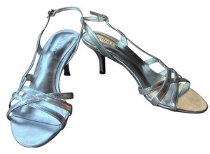 Kelly & Katie Formal Silver Sandals