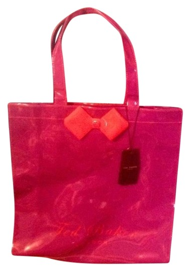 Preload https://img-static.tradesy.com/item/10558198/ted-baker-ikon-purple-and-red-polyvinyl-chloride-tote-0-6-540-540.jpg
