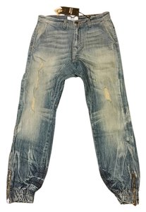 Golden Denim Skinny Jeans-Distressed
