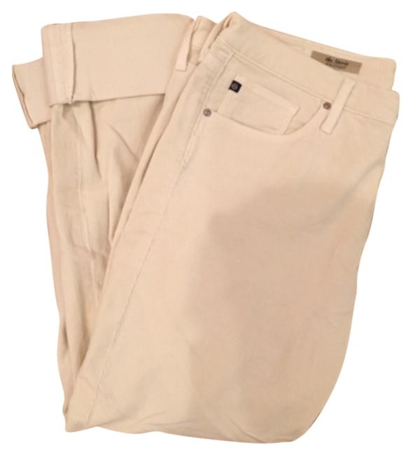 Preload https://item4.tradesy.com/images/ag-adriano-goldschmied-cream-straight-leg-pants-size-10-m-31-10558993-0-1.jpg?width=400&height=650