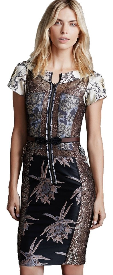 4d9ae58b40223 Byron Lars Beauty Mark Multicolor Anthropologie Embroidered Brocade ...