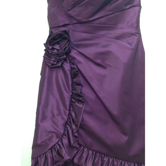 Enzoani Lavender Taffeta B16 Formal Bridesmaid/Mob Dress Size 0 (XS)