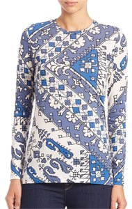Tory Burch T Shirt Malibu Blue