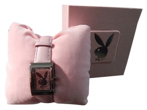 Playboy Playboy Ladies' Pink Band Watch