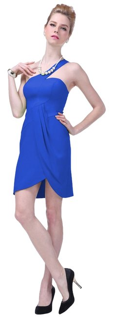 Preload https://item3.tradesy.com/images/blue-asymmetrical-one-shoulder-fashionista-satin-knee-length-cocktail-dress-size-8-m-10560202-0-1.jpg?width=400&height=650
