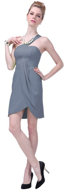 Preload https://item4.tradesy.com/images/gray-asymmetrical-one-shoulder-fashionista-satin-knee-length-cocktail-dress-size-8-m-10560523-0-1.jpg?width=400&height=650