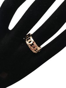 "Cartier CARTIER 18K YELLOW GOLD, ""C"" Motif WEDDING RING. Size 58. Made in FRANCE"