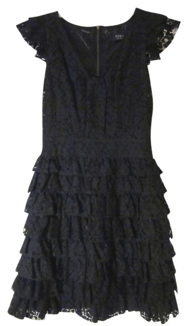Preload https://item1.tradesy.com/images/guess-black-lace-above-knee-cocktail-dress-size-2-xs-1056100-0-0.jpg?width=400&height=650