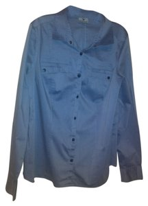 Worthington Button Down Shirt blue