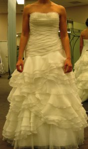 David's Bridal Galina Signature Swg354 Wedding Dress
