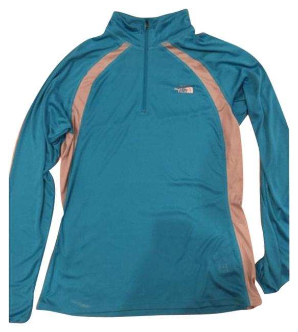Preload https://item2.tradesy.com/images/the-north-face-teal-activewear-top-size-12-l-32-33-10561711-0-1.jpg?width=400&height=650