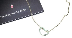 Roberto Coin $440 Roberto Coin Tiny Treasures 18K Yellow Gold Heart Necklace
