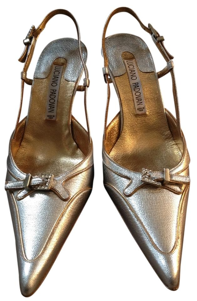 Luciano Padovan Silver And Gold Formal Glamour 65 Silk Argento ...