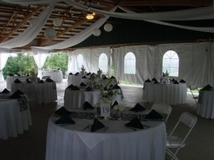 Custom Made Navy Damask Runners Tablecloth